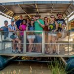 clients on boat tour at heritage house st lucia south africa